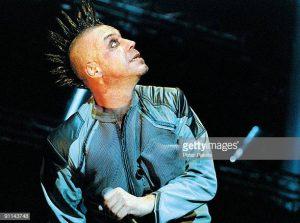 NETHERLANDS - DECEMBER 03:  Photo of RAMMSTEIN; 03-12-2001/RAMMSTEIN/HEINEKEN MUSIC HALL/A'DAM  (Photo by Peter Pakvis/Redferns)