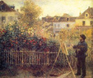 Pierre-Auguste_Renoir-Monet-che-dipinge-nel-suo-giardino-di-Argenteuil