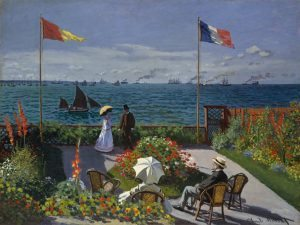 Terrazza-a-Sainte-Adresse-Monet-analisi