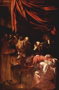 Morte della Vergine di Caravaggio