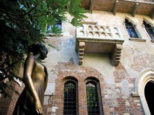 Scena del balcone Romeo e Giulietta - Shakespeare