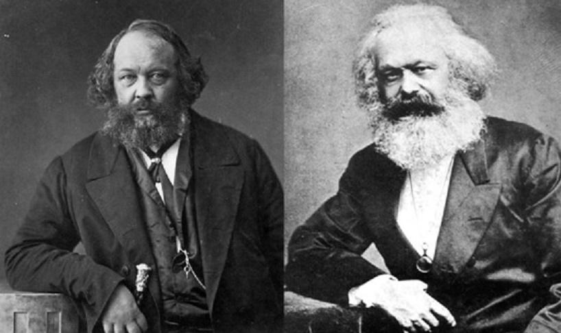 Bakunin - Marx