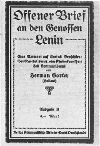 GORTER-Offener-brief-an-den-genossen-Lenin1920-----