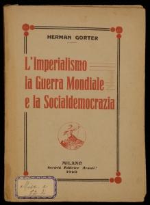 gorter - L'imperialismo....