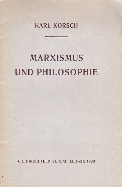 korsch-marxismus-und