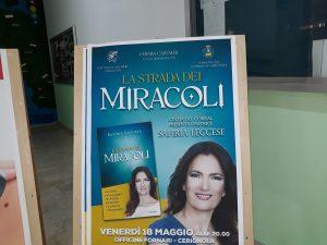 Safiria Leccese a Cerignola(Fg)Per''La Strada Dei Miracoli''