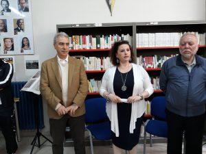 Inaugurazione Biblioteca Ite Alighieri Cerignola(Fg)
