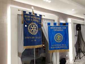 Loghi Rotary Club-Inner Wheel Cerignola