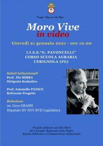 Il Ricordo Di Aldo Moro Incontro Online All'IISs''Pavoncelli di Cerignola(Fg)-Redazione World News Web 24-