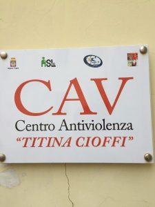 Nuova Sede Centro Antiviolenza''Titina Cioffi''a Cerignola(Fg)Continua La Lotta Per Difendere Le Donne Di;Mimmo Siena