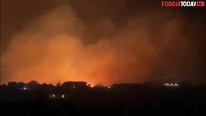 Incendio Sul Gargano