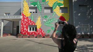 l'inaugurazione dell'opera di realtà aumentata all'Unifg Il 27.9-Redazione World News 24-