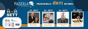 Loc. Orizz. Piazzolla & Friends, 22-25 settembre 2021