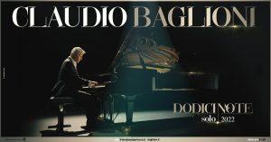 A Febbraio Parte Il Tour Musicale di Claudio Baglioni''Dodici Note Solo''4 Tappe In Puglia-Mimmo Siena-