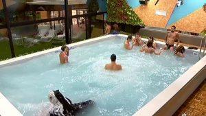 Grande Fratello, i vip fanno festa in piscina ma arriva la settimana della verità
