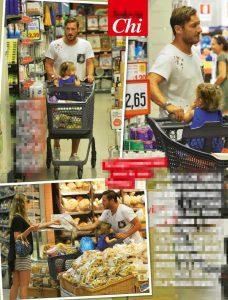 Francesco Totti, marito modello, fa la spesa con Ilary