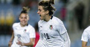 Italia, che manita!!! Le azzurre vincono 5 a 0 contro la Bosnia.