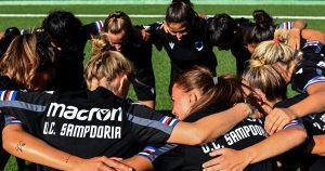 Sampdoria Women: è iniziata la stagione a Saint Vincent. Il 24 luglio il primo impegno ufficiale contro il Milan e il Servette.