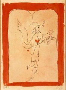P. Klee, Angelo che porta una piccola colazione, 1920
