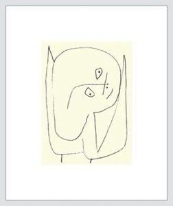 P. Klee, Angelo pieno di speranza, 1939