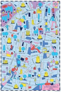 Illustrated-map-Dalston-Stoke-Newington-London