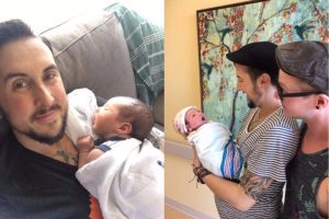 Portland-Transgender-Man-Trystan-Reese-Gives-Birth-Baby-Boy-With-His-Partner
