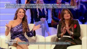 Aida Nizar, Malena le rivela in diretta che fa la pornostar, lei reagisce con un gesto choc