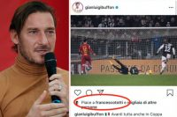 francesco totti like buffon instagram_24152530