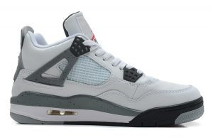 the best attitude 05fc0 58a89 pas-cher-Air-Jordan-4-Retro-blanche-noir-