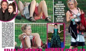 Helena Bonham Carter senza mut. ande: le foto h0t scattate a Central Park
