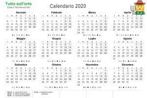 Download Calendario 2020