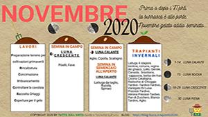 almanacco novembre 2020