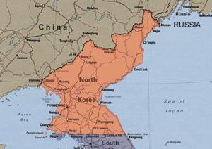 Bombe dalla Corea