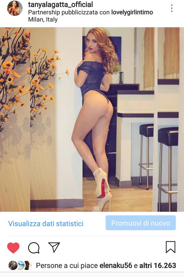 Tanya La Gatta Belen Rodriguez