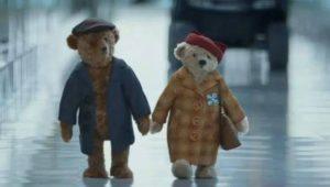 I nonni orsacchiotti tornano a casa per Natale..