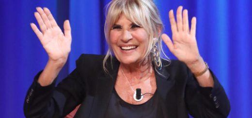 """Roma, studi Voxson, trasmissione tv """"Maurizio Costanzo Show"""". Nella foto: Gemma Galgani"""