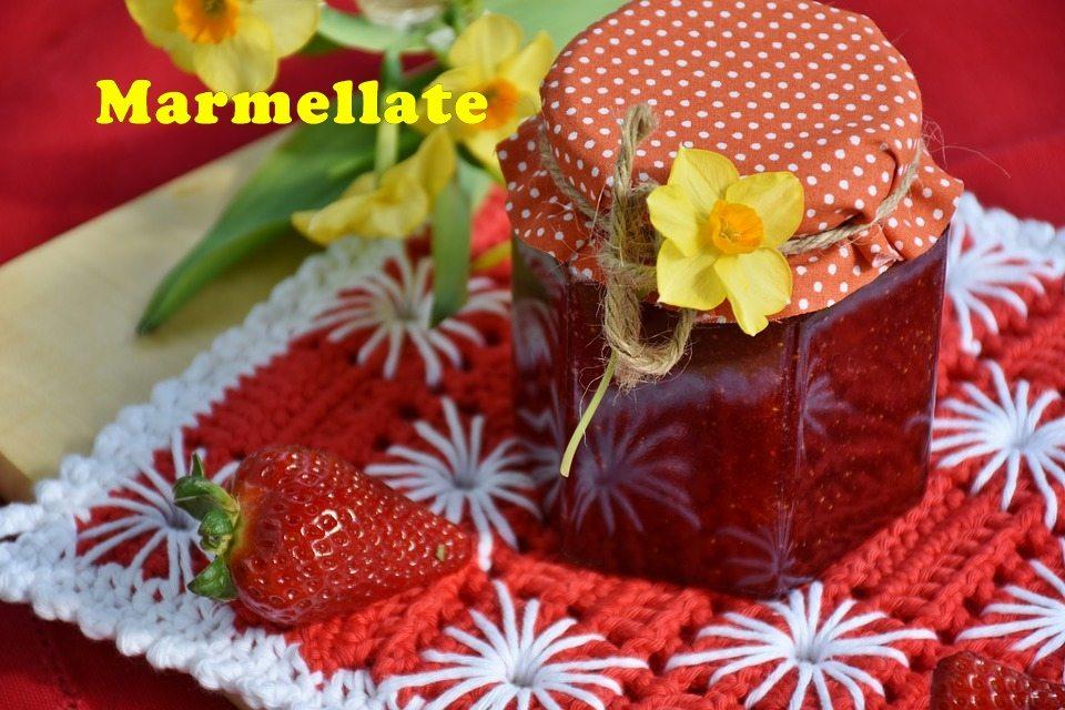 Confettura di fichi con succo d'arancia