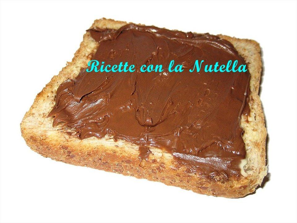 Torta della nonna crema e nutella