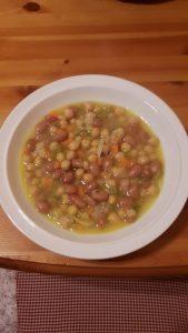 Zuppa di legumi.
