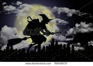 stock-photo--d-illustration-epiphany-epiphany-with-broom-in-the-night-769499737[1]