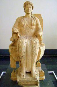 la Persefone di Locri nel museo Alte di Berlino