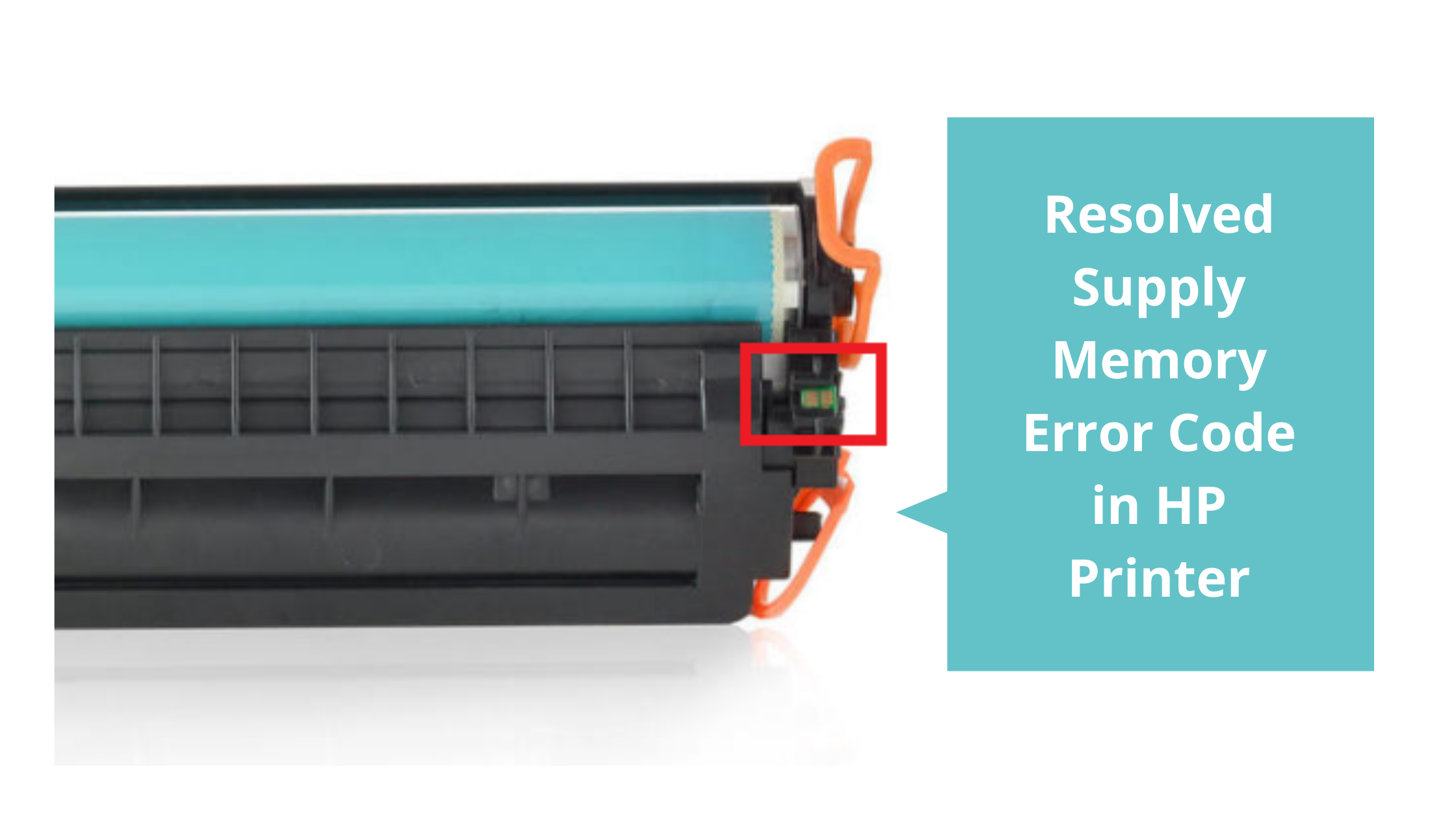 Resolved Supply Memory Error Code in HP Printer