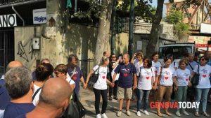 A Certosa poco prima del minuto di silenzio - Foto GenovaToday 15