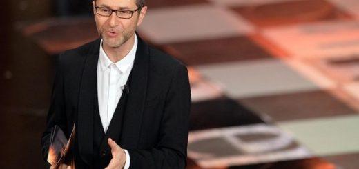 Fabio Fazio, conduttore del Festival di Sanremo, in una foto del 21 febbraio 2014. ANSA/ETTORE FERRARI