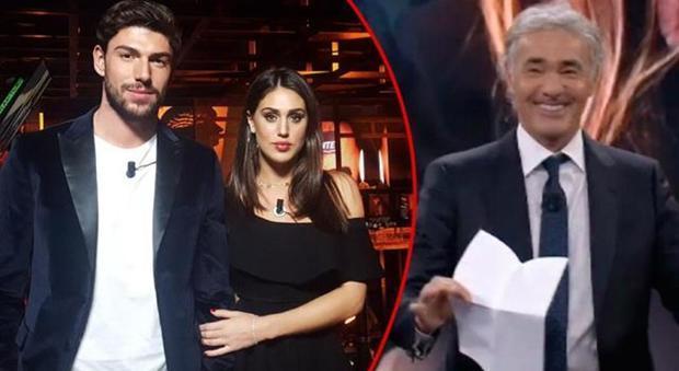 Cecilia Rodriguez Ignazio Moser gaffe Giletti Francesco non arena video 8 gennaio 2018_08115719
