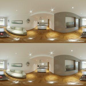 progettazione e rendering - rendering VR - rendering ristrutturazione VR - rendering progettazione - rendering ristrutturazione - studio di ingegneria Via Appia Nuova - Studio di ingegneria Roma