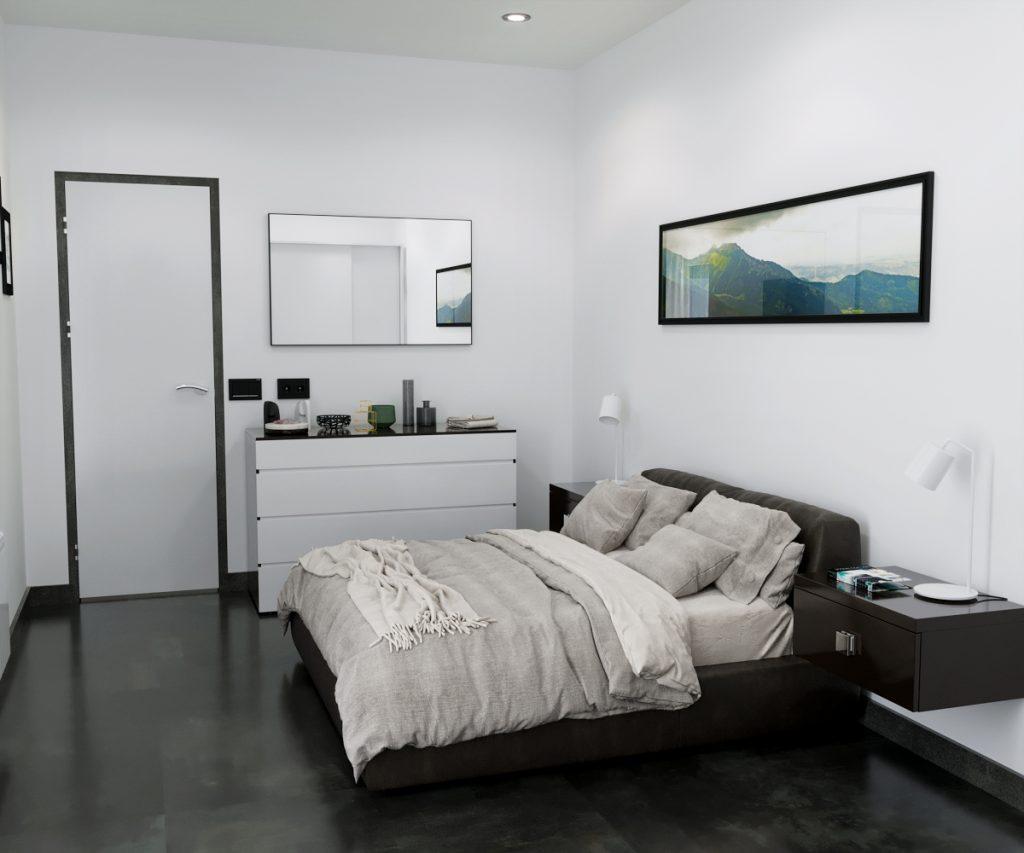 Camera da letto - unità abitativa 03