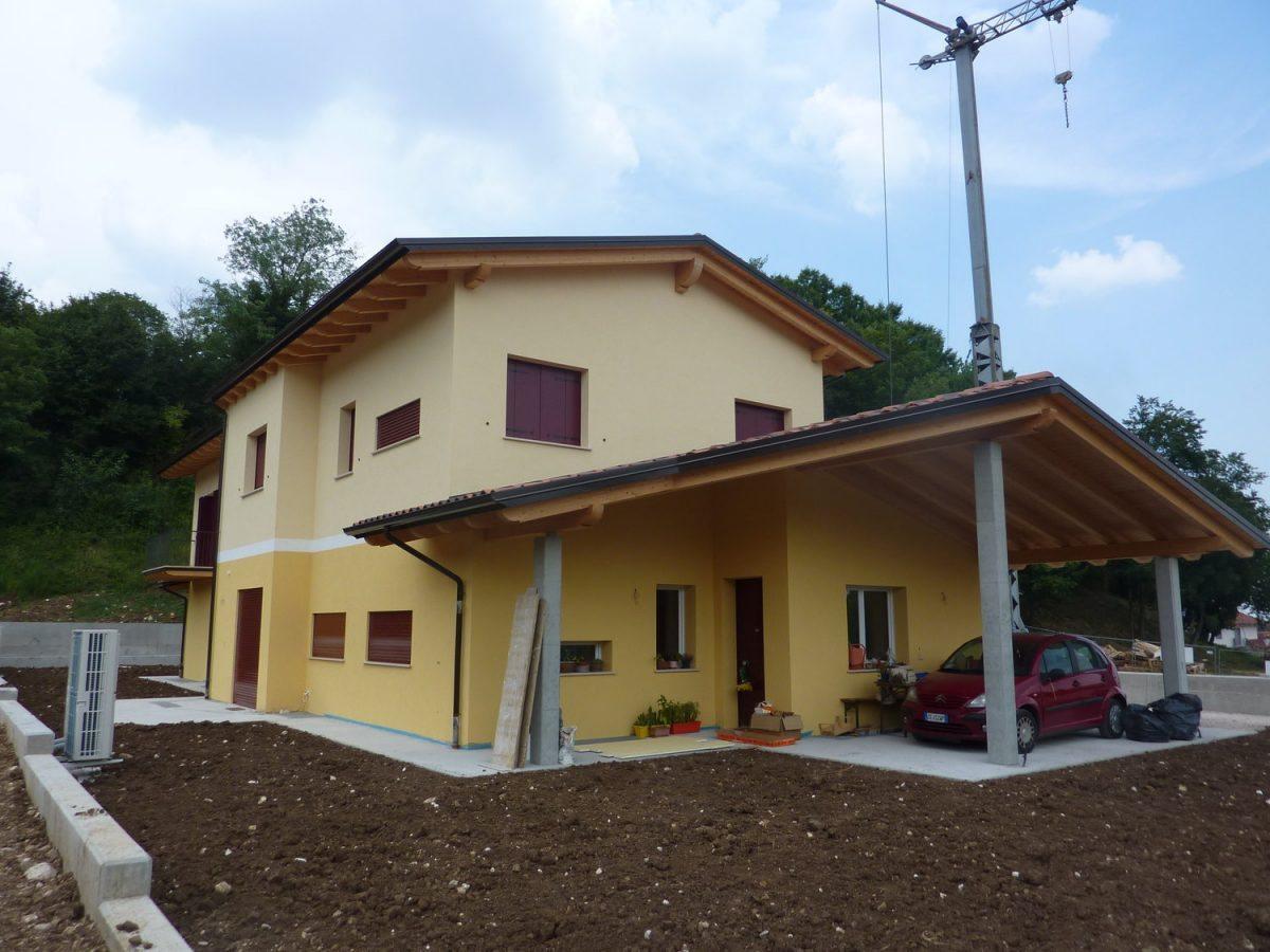 Abitazioni e case di legno ecologiche in bioedilizia case in