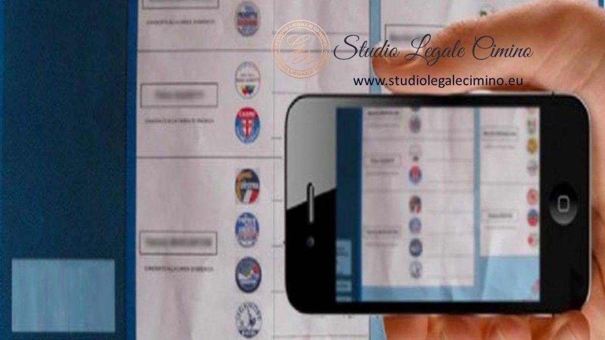 LA CASSAZIONE DICE NO AI TELEFONINI IN CABINA ELETTORALE