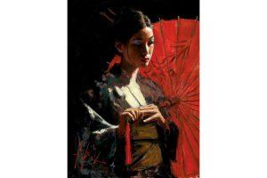 L'oriente nella pittura di Fabian Perez